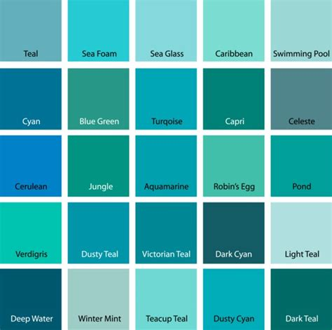 what color is blue green turquoise chocolat couleurs mariage 3eme