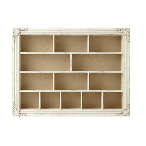 scaffale bianco scaffale bianco in legno effetto anticato l 102 cm