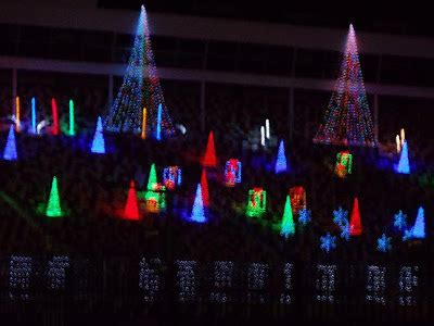 we are the world christmas lights at charlotte motor speedway