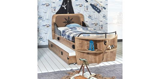 Syfa Navy navy 231 gemi karyola 1 berke mobilya