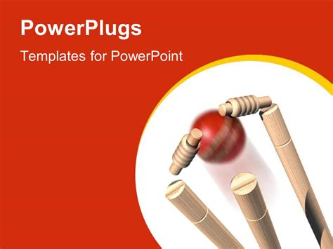 power plugs powerpoint templates powerpoint template cricket craze 8702