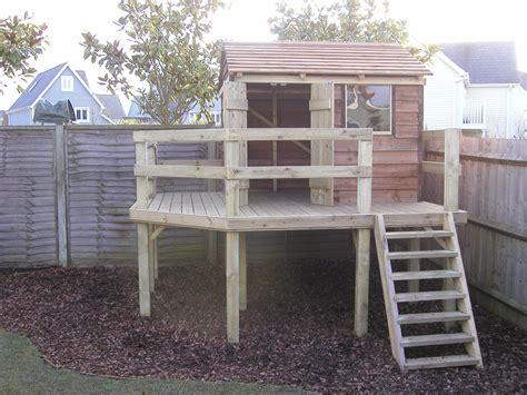 Backyard Play Forts