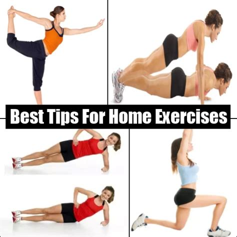 best tips on home exercise without hitting the diy