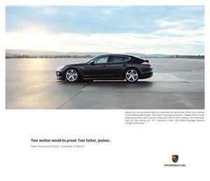 Porsche Magazine Ads Porsche Panamera Quot 2 Quot Print Ad By Miami Ad School