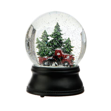 holiday truck water globe gump s
