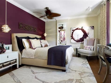 purple and white bedroom transitional bedroom photos hgtv