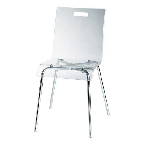 stuhl acryl stuhl glass aus acryl und stahl glass maisons du monde