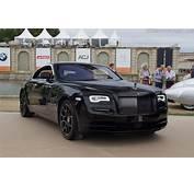Rolls Royce Wraith Black Badge  2016 Chantilly Arts