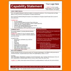 capability statement template word capability statement template burgundy logo png letter
