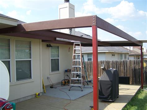 hutto attached porch awning carport patio covers