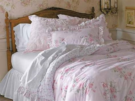shabby chic bedding can add an elegant vintage touch to your room home furniture