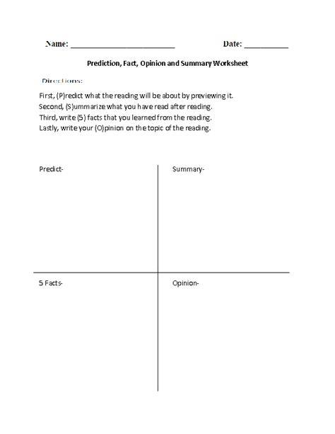 Setting Analysis Worksheet