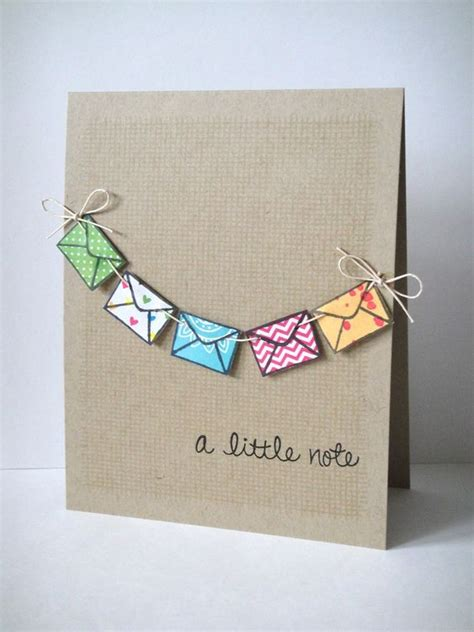 Simple Handmade Greeting Cards - image gallery handmade cards designs