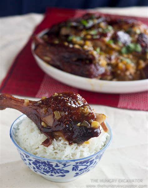 new year duck recipes the hungry excavator sour plum duck 酸梅鸭 recipe and