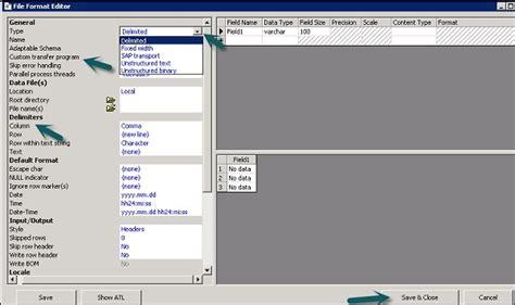 tutorial sap bods sap bods file formats