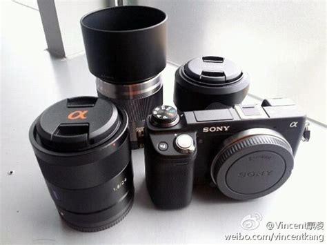 sony nex 6 sony nex 6 gets official