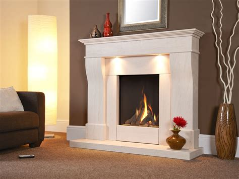Fireplace Suites Gas by Avelli Illumia Balanced Flue Gas Suite