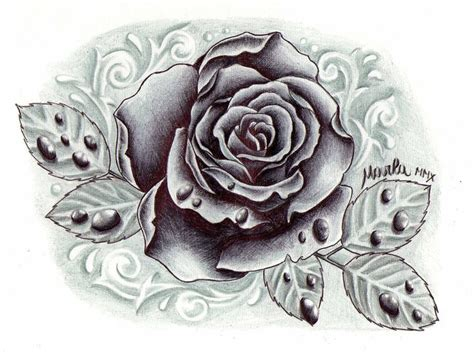gray wash tattoo designs black and grey with drops by zeromarla on deviantart