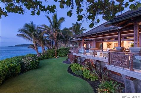 oahu luxury homes the most expensive property on oahu june 2016