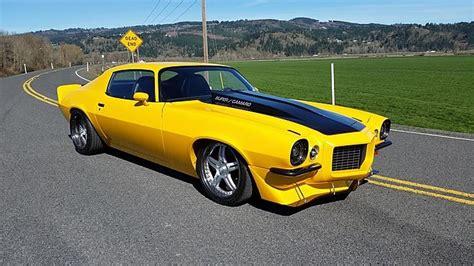 Chevrolet Camaro Build And Price 1972 Chevrolet Camaro Resto Mod 468 425 Hp Custom Build