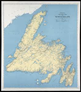 of map collection ten mile map of newfoundland centre for newfoundland
