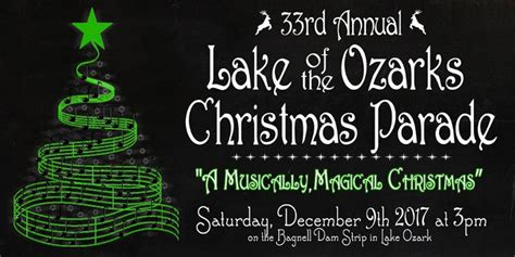 lights of the ozarks 2017 lake of the ozarks christmas parade 101 9 fm the wave