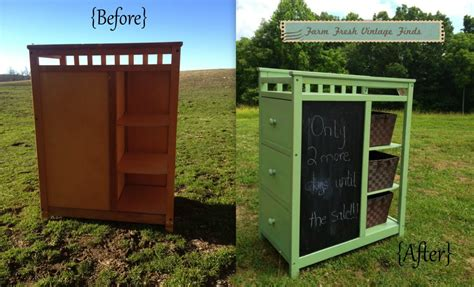 Green Changing Table Dresser Changing Tables Farm Fresh Vintage Finds