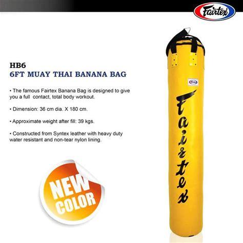 Fairtex Hb 6 By Kicx Mma Shop fairtex heavy bag banana yellow hb6
