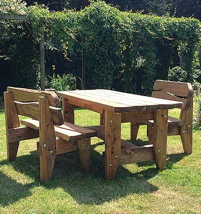 Handmade Wooden Garden Furniture - celt forest quality crafted for generations page 2