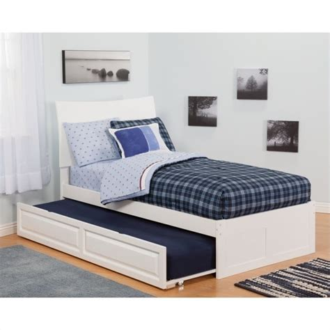 cymax beds atlantic furniture soho bed with urban trundle in white