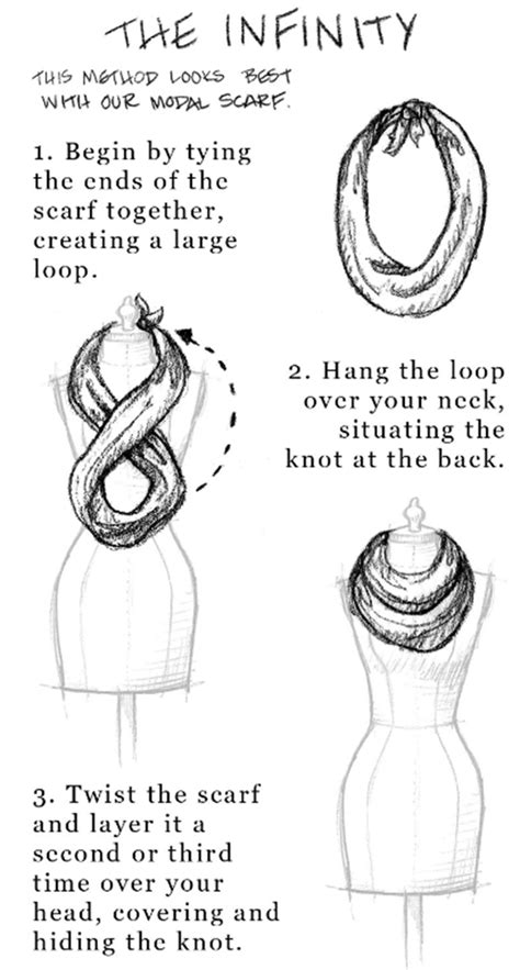 how to tie an infinity loop scarf 31 days of fall inspiration 50 ways to wear tie scarves