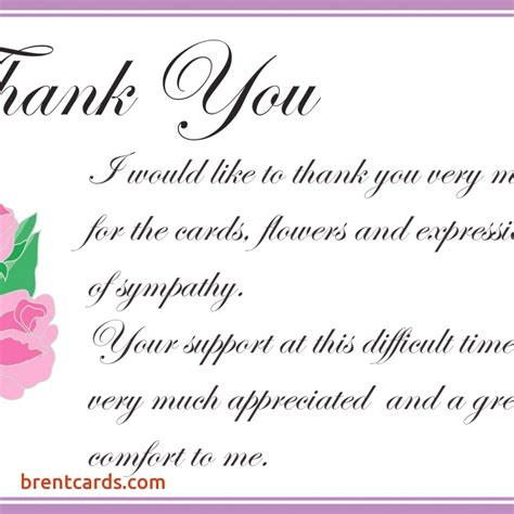 Sle Thank You Notes For Gift Cards