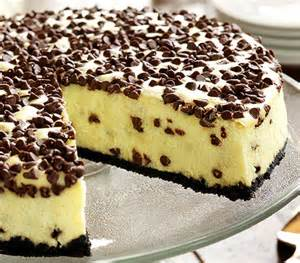 chocolate chip cheesecake recipe easy dessert recipes
