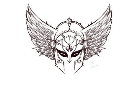 valkyrie wings tattoo r valkyrie by anicrys on deviantart