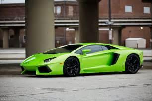 Green Lamborghini Aventador Lamborghini Aventador Cars