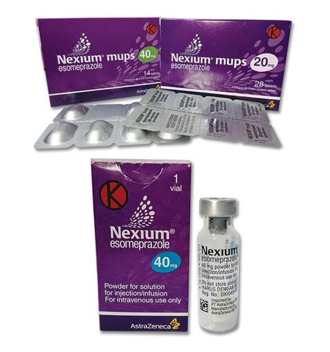 Obat Nexium nexium esomeprazole 20 mg obat apa