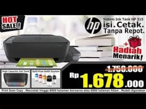 Hp Ink Tank 315 Z4b04a unboxing and setup hp ink tank 315 415