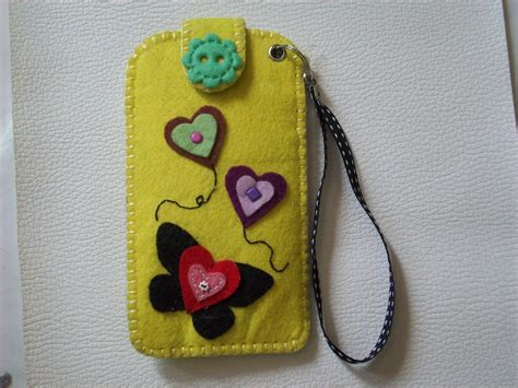 felt craft phone casing felt craft - Felt Crafts