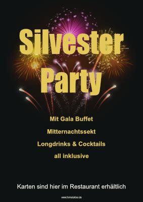 plakat silverster party feuerwerk vorlage muster zum