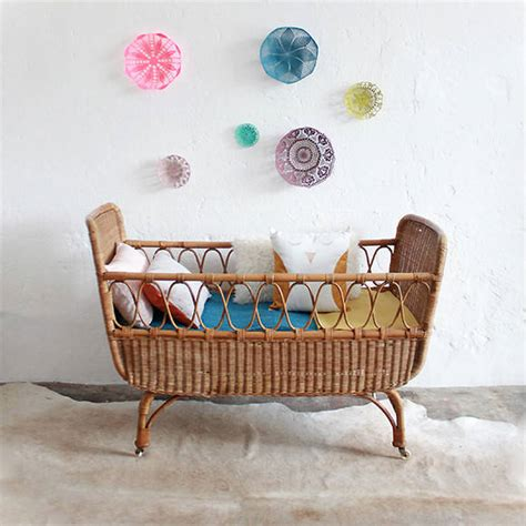 Vintage Wicker Crib by Vintage Shops For Handmade