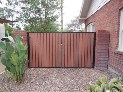 composite wood fencing fence ideas