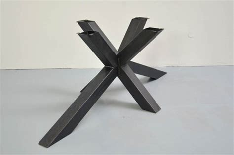 gestell nach mass tischgestell stahl und edelstahl tischgestelle auf