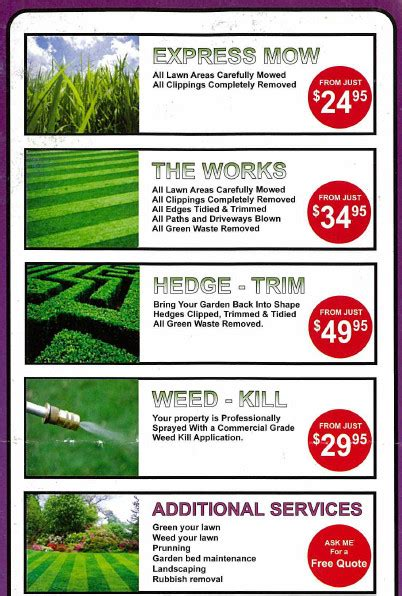 how to price lawn mowing jobs f f info 2017