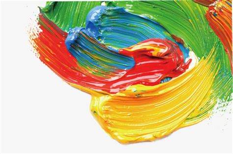 hd color paint pigment painting png image and