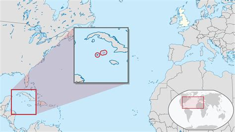 world map cayman islands location of the cayman islands in the world map