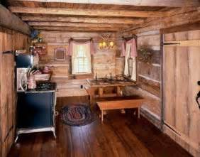 Simple Country Home Decor Small Cabin Kitchen Cabins Style Cabin