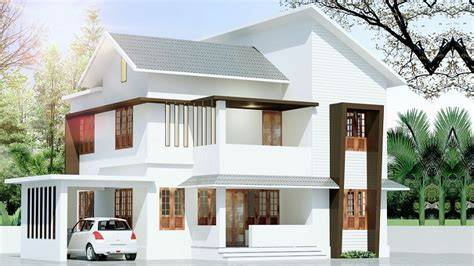 contemporary modern house plan with 1700 square feet and 3 1700 sq ft contemporary double floor 4 bhk home design