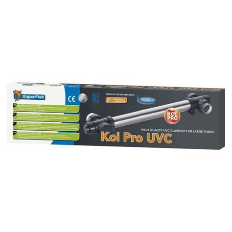 uv l 75w koipro rvs uv 75 w koi by koi