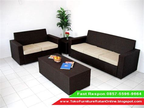 Kursi Plastik Untuk Cafe sofa rotan ruang tamu jual kursi sofa rotan harga kursi