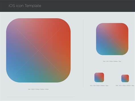 ios template 25 ios app icon templates to create your own app icon
